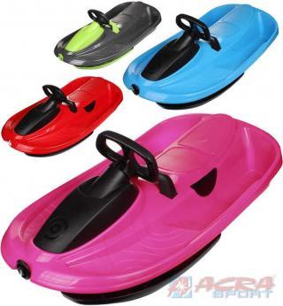 ACRA Boby dětské STRATOS řiditelné pro 2 osoby s volantem plast 4 barvy