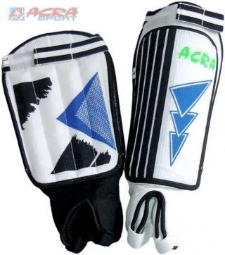 ACRA Fotbalové chrániče holení - velikost XL