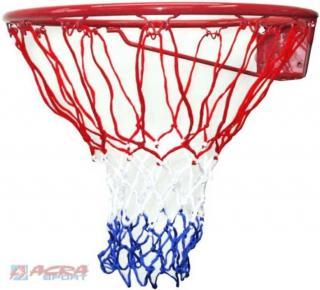 ACRA Koš basketbalový na košíkovou síťka trikolora