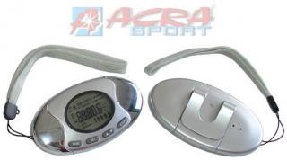 ACRA Krokoměr multifunkční pedometer měření tělesného tuku