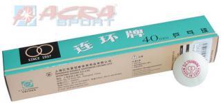 ACRA Míčky na stolní tenis  bez švu 40 mm