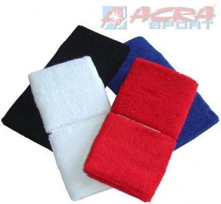 ACRA Potítka barevná tenisová set 2ks  4 barvy