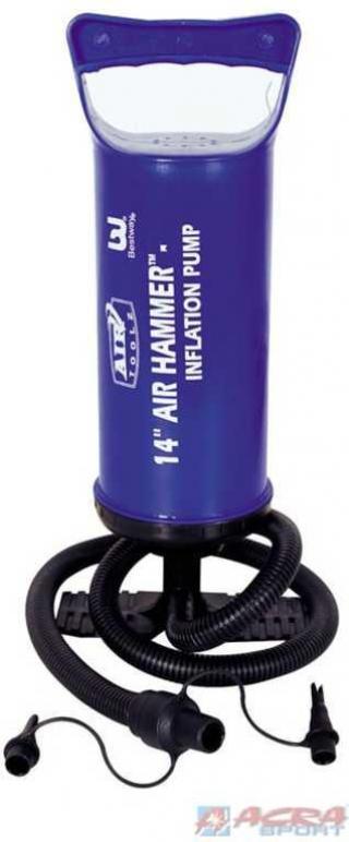 ACRA Pumpa ruční hustilka na bazény 36 cm Bestway