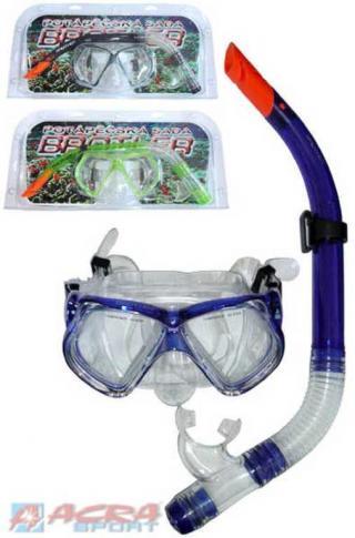ACRA Sada potápěčská pro dospělé 3 barvy