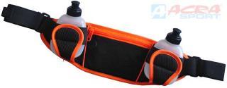 ACRA Sportovní set ledvinka   2 lahvičky 0,2l s prostorem na mp3