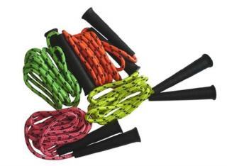 ACRA Švihadlo dětské neonové 2,5m 4 barvy