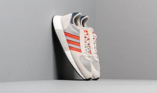 adidas Marathon Tech Raw White/ Active Orange/ Collegiate Navy