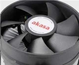 AKASA Chladič CPU AK-CCE-7105EP pro Intel  LGA 775 a 1156, 92mm PWM ventilátor, do 95W, AK-CCE-7105EP