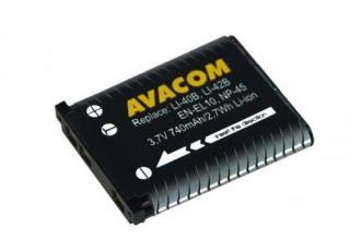 Akumulátor pro video/foto Avacom pro Olympus Li-40B/Li-42B/Fujifilm NP-45/Nikon EN-EL10 Li-ion 3,7V 740mAh