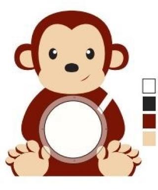 ALBI Pokladnička - Opička