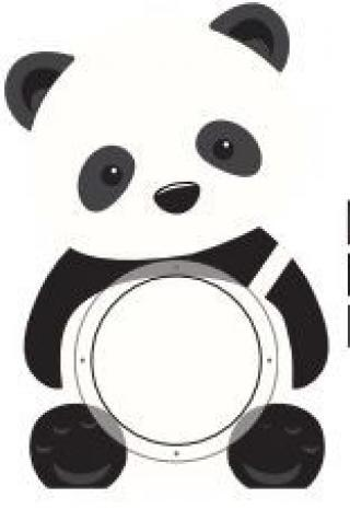 ALBI Pokladnička - Panda