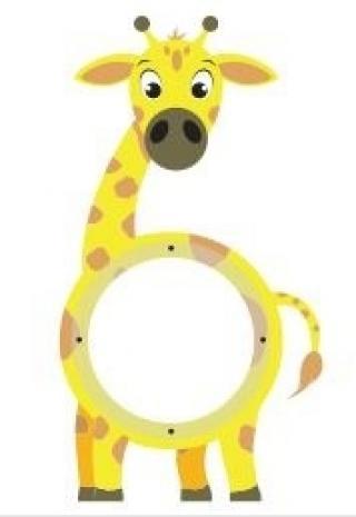 ALBI Pokladnička - Žirafa