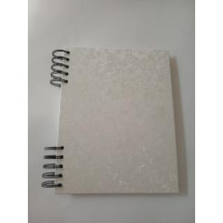 Album DeLux - Khaki zelená A4 stojící - bílé listy  170115