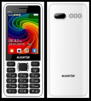 Aligator D940, Dual SIM, bílý - rozbaleno