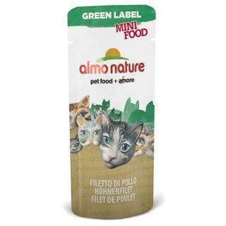 Almo Nature Green Label Mini Food 5 x 3 g - kuřecí filet