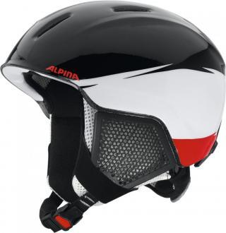 Alpina Sports Carat LX Black-White-Red 51-55 - rozbaleno