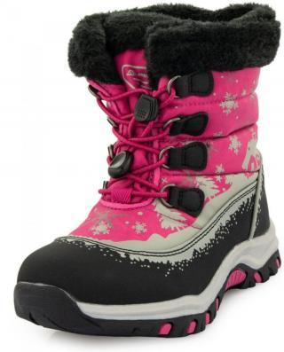ALPINE PRO dívčí sněhule Etelo KBTP215450 30 růžová