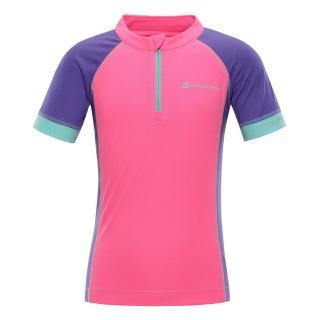 ALPINE PRO dívčí tričko Sorano 140 - 146 růžová - zánovní