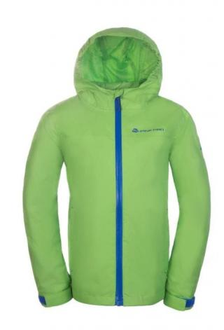 ALPINE PRO KJCN151342_116_122_s19 Chlapecká bunda Vibo - zelená