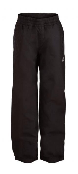 ALPINE PRO KPAM103990_128-134_aw18 Dětské kalhoty SESTO 3 INS - černé
