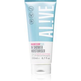 AL!VE Magnesium Plus In Shower krémový sprchový gel s hydratačním účinkem 200 ml
