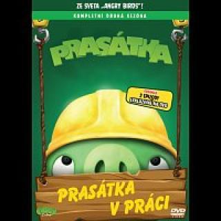 Antti Pääkkönen – Angry Birds: Prasátka  – DVD