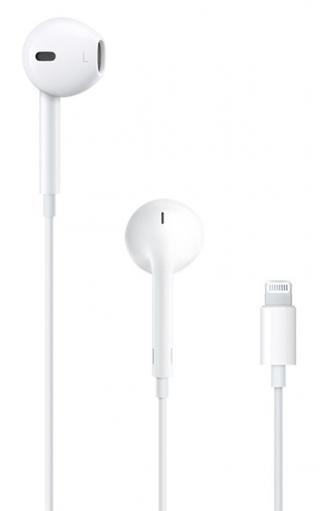 Apple EarPods s konektorem Lightning sluchátka s mikrofonem  - rozbaleno