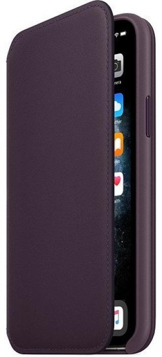 Apple Iphone 11 Pro Kožený Folio, Aubergine mx072zm/A