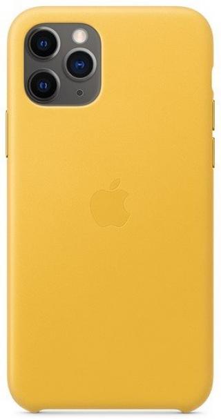 Apple Iphone 11 Pro Kožený Kryt, Meyer Lemon mwya2zm/A