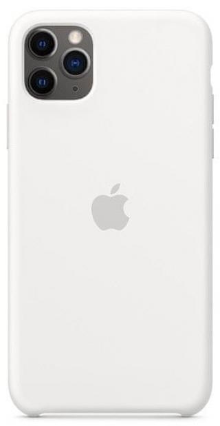 Apple iPhone 11 Pro Max silikonový kryt, bílý MWYX2ZM/A - zánovní