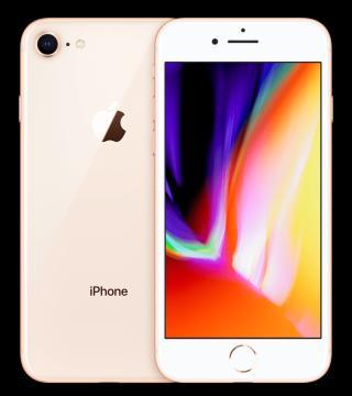 Apple iPhone 8, 256GB, Zlatý - zánovní