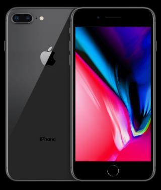 Apple iPhone 8 Plus, 128GB, Vesmírně šedý - rozbaleno