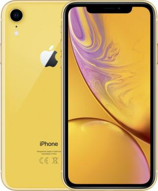 Apple Iphone Xr, 128gb, Žlutý