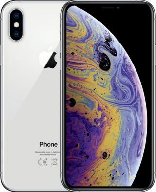 Apple Iphone Xs, 64gb, Stříbrný