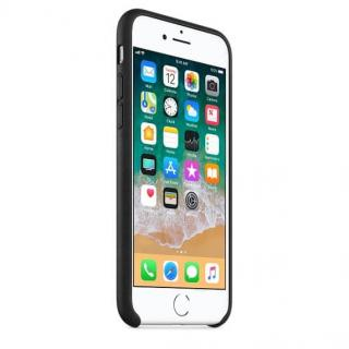 Apple Kožený kryt, Apple iPhone 8/7/SE 2020, MQH92ZM/A, black - rozbaleno