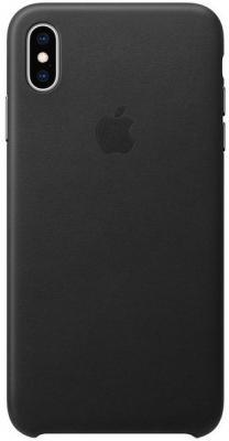 Apple Kožený Kryt Na Iphone Xs Max, Černá mrwt2zm/A