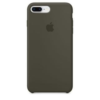 Apple Silikonový Kryt, Apple Iphone 7 Plus / 8 Plus, Mr3Q2Zm/A, Dark Olive