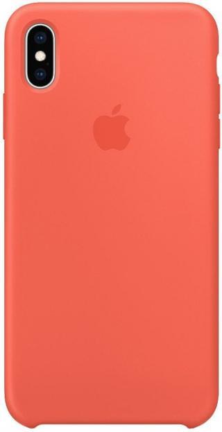 Apple silikonový kryt na iPhone XS Max, nektarinková MTFF2ZM/A - rozbaleno