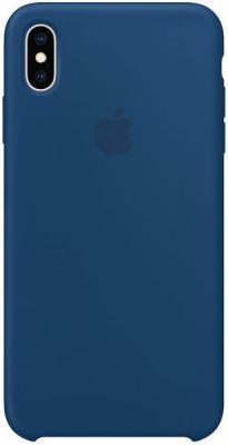 Apple Silikonový Kryt Na Iphone Xs Max, Podvečerně Modrá mtfe2zm/A