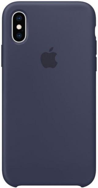 Apple Silikonový Kryt Na Iphone Xs, Půlnočně Modrá mrw92zm/A