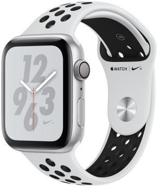 Apple Watch Nike  Series 4, 40mm, Pouzdro Ze Stříbrného Hliníku/Platinově-Černý Řemínek