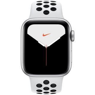 Apple Watch Nike Series 5 40mm Stříbrný hliník s platinovým/černým sportovním řemínkem Nike