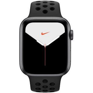 Apple Watch Nike Series 5 44mm Vesmírně šedý hliník s antracitovým/černým sportovním řemínkem Nike