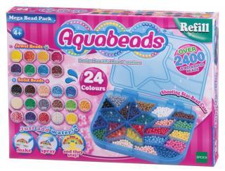 Aquabeads Velká souprava korálků - rozbaleno