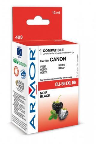 Armor ink-jet pro Canon CLI551BKXL, 13 ml, Black, B12624R1