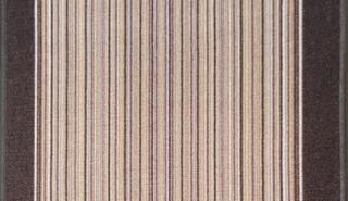 Associated Weavers koberce Protiskluzový běhoun na míru Carnaby 41 - šíře 67 cm s obšitím Hnědá