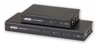 ATEN CS-72D 2-port DVI KVM USB, audio 2.1, včetně kabelů, CS72D-AT