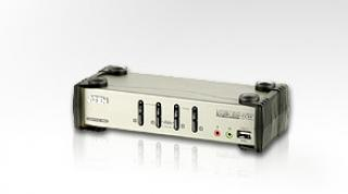 ATEN KVM switch CS-84U,USB Hub,  4PC , CS84U-AT