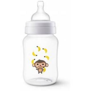 Avent Anti-colic 260 ml láhev 1 ks opice