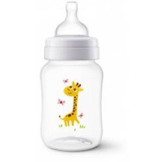 Avent Anti-colic 260 ml láhev 1 ks žirafa